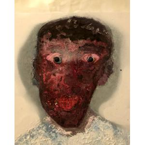 Fouadi - Disfigured face#1, 2015
