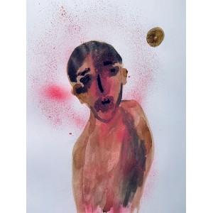Fouadi - pink man, 2020