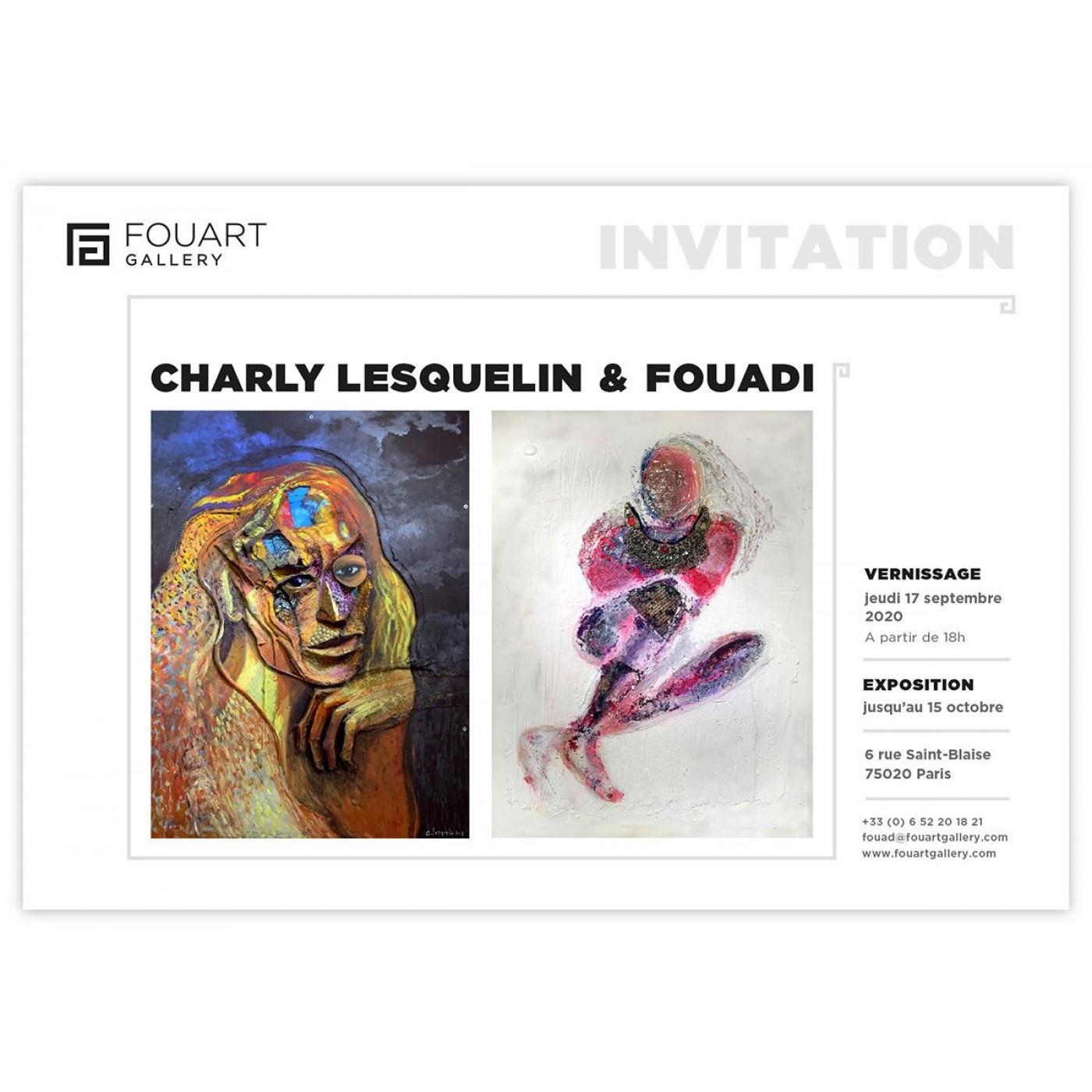 Exposition de Charly Lesquelin et Fouadi