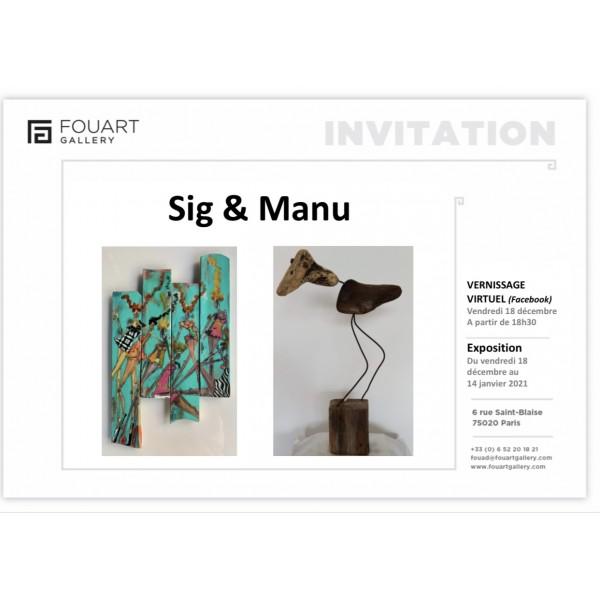 Exposition de Sig et Manu #1