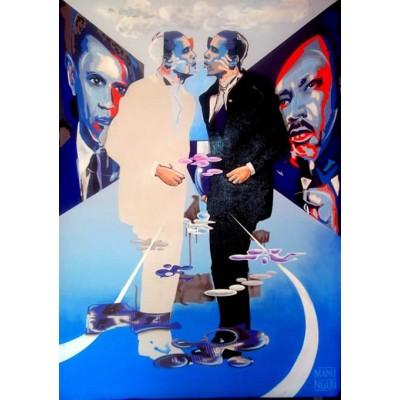 """Manu Ngog - """"Obama double jeu"""" - 2008"""